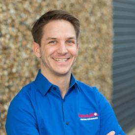 Josh Campbell, owner of Rescue Air Heating and Cooling